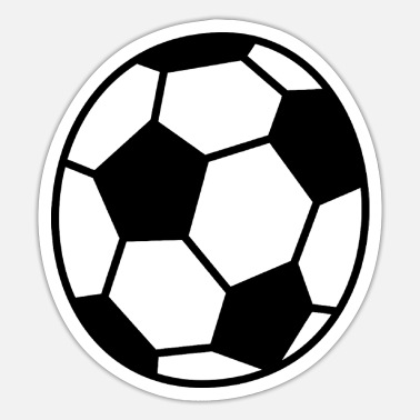 Football Ball Football Sport Ball - Sticker