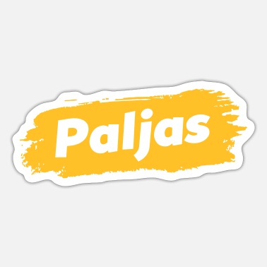 Dialect Paljas - Antwerps dialect - Sticker
