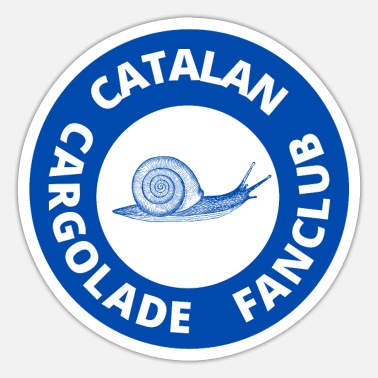 Catalansk cargolade fanclub - Sticker