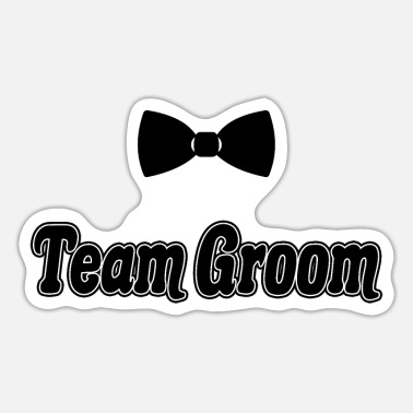 Bachelors Team Groom Future Husband Bachelor Party Gift - Sticker