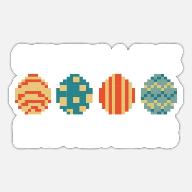Paashaas Easter Happy Easter Egg Hunt Egg Hunt Kan - Sticker