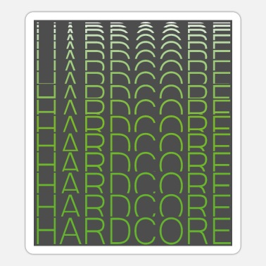 Deejay hard - Sticker