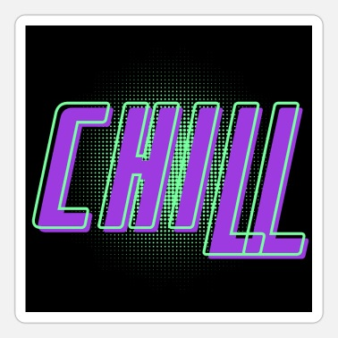 Psytrance Chill - Sticker