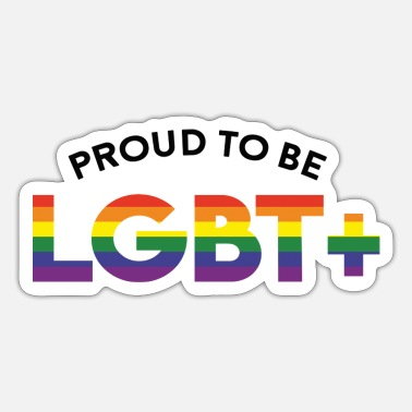 Lgbt Proud Proud to be LGBT - Sticker