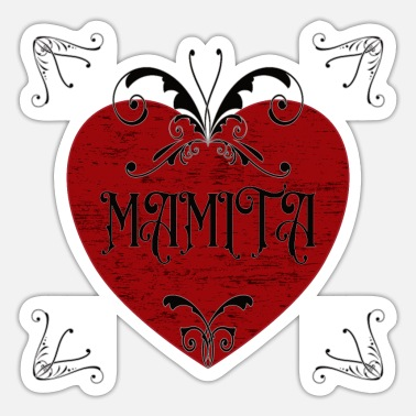 Teufelsweib MAMITA DESIG, GIFT TO MOTHER DAY - Sticker