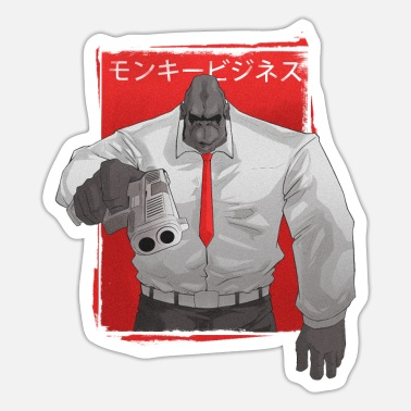 Strip Aap Yakuza - Anime Manga Aap - Sticker