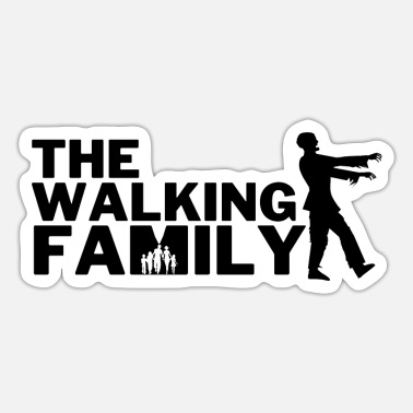 Calendario The Walking Family - Regalo para la familia - Pegatina