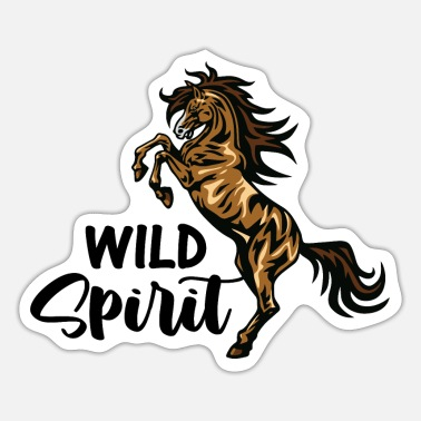 Western Riding Animals Horses Rider Rider Riding Stable Portrait - Sticker
