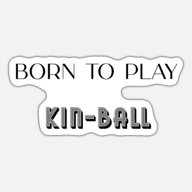 Kin Tee shirt kin-ball - Sticker