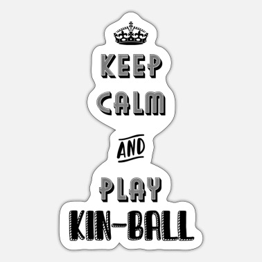 Kin Kin-ball Omnikin sport big ball - Sticker