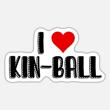 Kin Kin-ball T-shirt - Sticker
