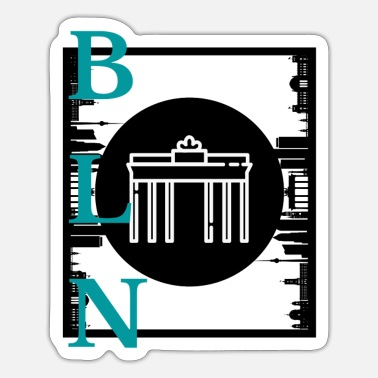 Brandenburger Tor Berlin - Sticker