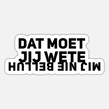 Dialect Dialect - Sticker