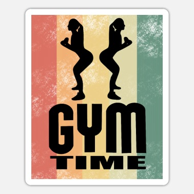 Sporty Gym Sport Kraftsport - Sticker
