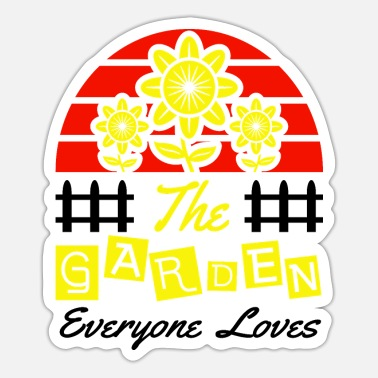 Colorful Leaves The Garden Everyone Loves - Sticker