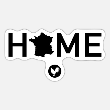 Home Country My country France, my home - Sticker