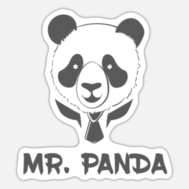 Pause Mr. Panda - Sticker