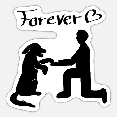 Chi Dog & Human Forever - Sticker