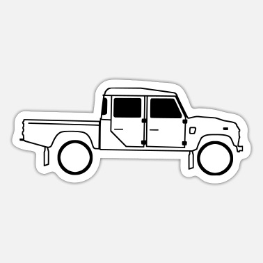 Defender Defender 130 - Sticker