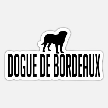 Dogue De Bordeaux DOGUE DE BORDEAUX dog - Sticker