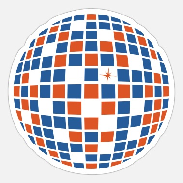 Ball DISCO BALL BALL - Sticker