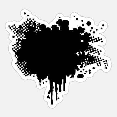 Splatter splatter - Sticker