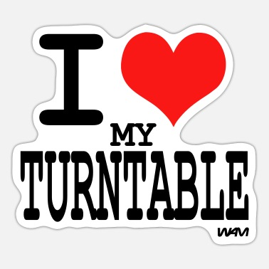 Turntable turntable - Sticker