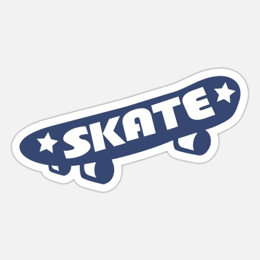 Skateboard Skateboard - Sticker