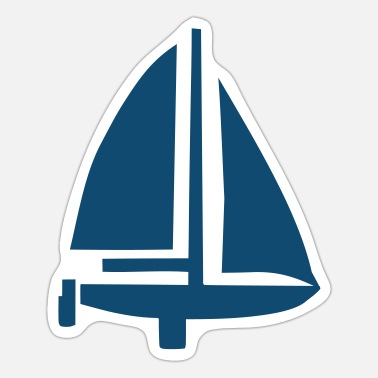 Sail Boat Sailing Boat - Sticker