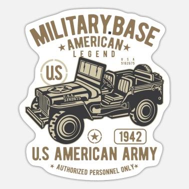 Base Militaire American Legend Homme Jeep Militaire Veste Armée Américaine America USA
