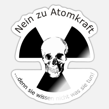 Nuclear Energy no nuclear energy - Sticker