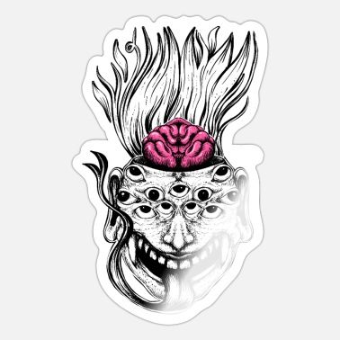 Mutant Mutant Brain - Sticker