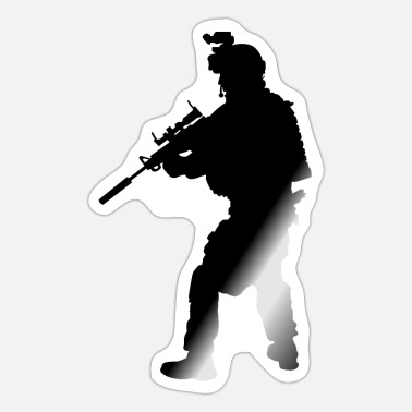Special Forces Special forces soldier, special forces soldier army - Sticker