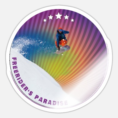 Stempel Freeriders Paradis Effekt - Sticker