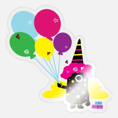 Monster Party party monster - Sticker