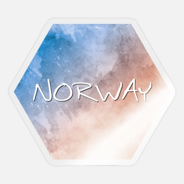 Norge Norge - Norge - Sticker