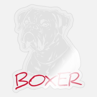 Boxer Boxer - Sticker