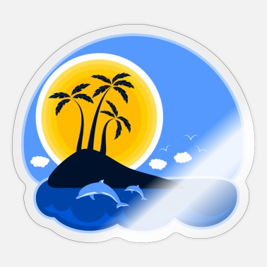 Holiday Island Holiday island - Sticker