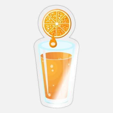 Orange Juice orange juice - Sticker