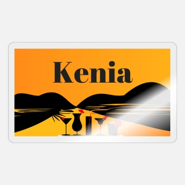 Kenya Kenya - Sticker