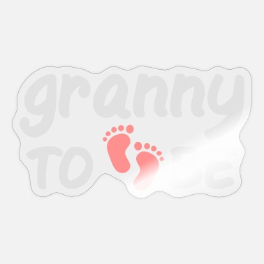 granny to becoming grandmother grandmother baby saying - Sticker