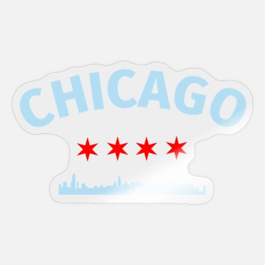 Chicago Chicago City Chicago - Sticker