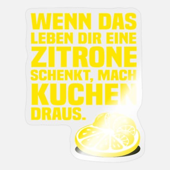 Zitronen leben dir schenkt das wenn Wenn Dir