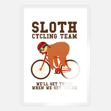 Faultier Sloth Cycling Team - Sticker