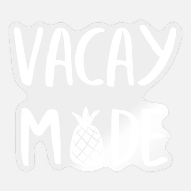 Holidays Holidays - Holidays - Summer Holidays - Gift - Sticker