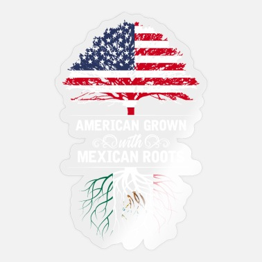 Mexico America USA - Sticker