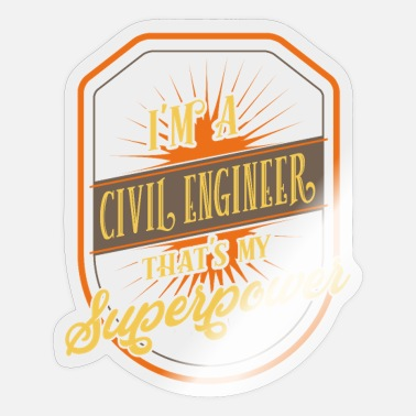 Civil Engineering civil engineers - Sticker