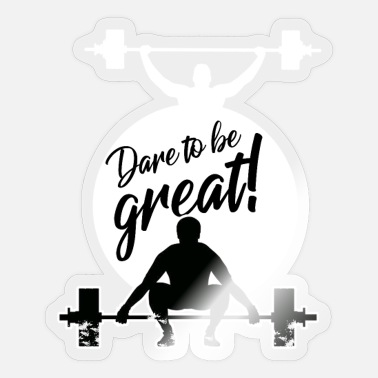 Power Lifting Fitness Workout Gym Gewichtheben Power Lifting - Sticker