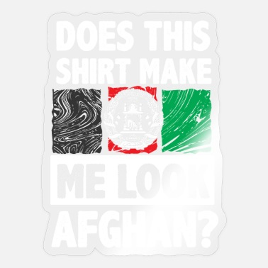 Isaf Afghanistan top - Sticker
