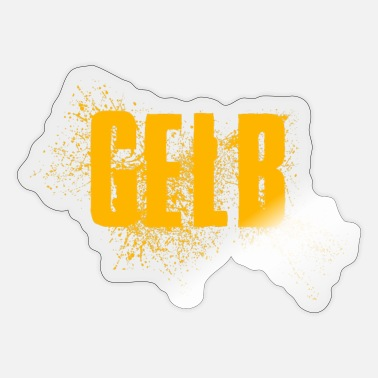 Gelb Gelb - Sticker